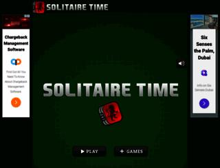 solitairetime.com screenshot