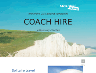solitairetravel.co.uk screenshot