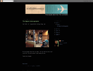 solitarycameraman.blogspot.com screenshot
