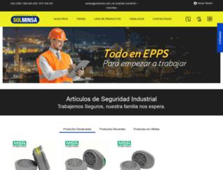 solminsa.com screenshot