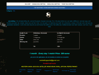 solo-betting.sportal.tips screenshot
