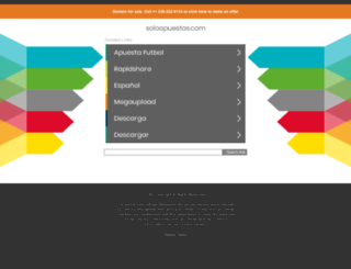 soloapuestas.com screenshot