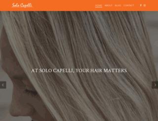 solocapelli.com screenshot