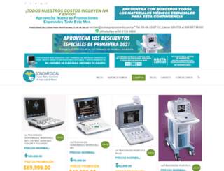 soloequiposmedicos.mx screenshot