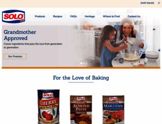 solofoods.com screenshot