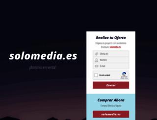 solomedia.es screenshot