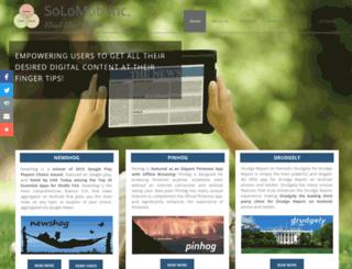 solomob.net screenshot