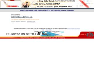 solomoitacademy.com screenshot