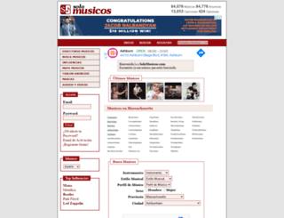 solomusicos.com screenshot