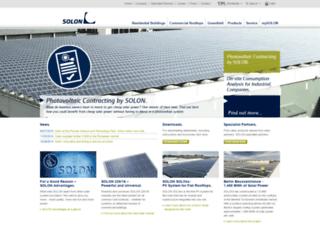 solon.com screenshot