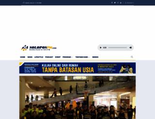 soloposfm.com screenshot