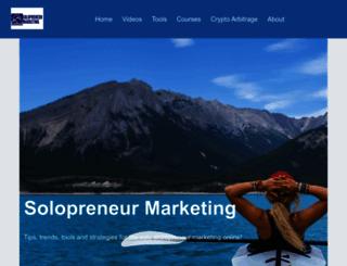 solopreneurmarketing.com screenshot
