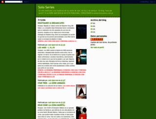 soloseries.blogspot.com screenshot
