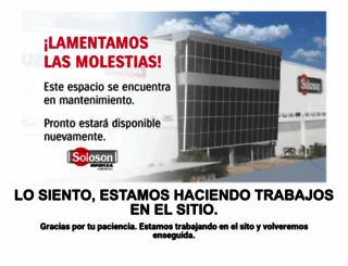 solosonimport.com screenshot