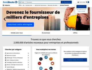 solostocks.fr screenshot
