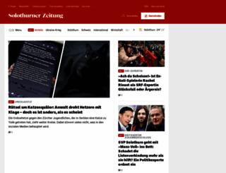 solothurnerzeitung.ch screenshot