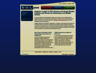 solpass.org screenshot
