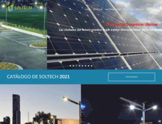 soltech-leadsun.com screenshot