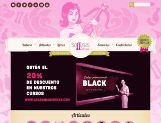 solterasdebotas.com screenshot