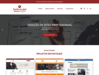 solucaovirtual.com.br screenshot