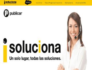 soluciona.publicar.com screenshot