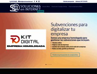 solucionesinter.net screenshot