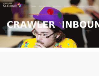 solucionesmuestrate.com screenshot