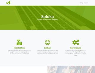 soluka.fr screenshot