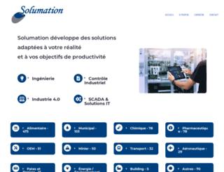 solumation.ca screenshot
