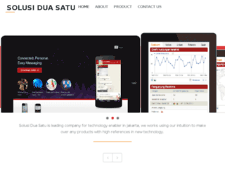 solusiduasatu.com screenshot