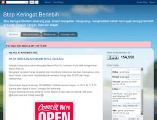 solusikeringatberlebih.com screenshot