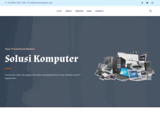 solusikomputer.com screenshot