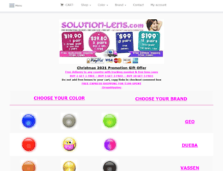 solution-lens.com screenshot