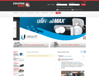 solutionbox.com.uy screenshot