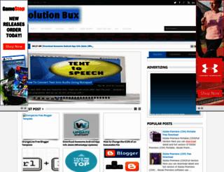 solutionbux.blogspot.com screenshot