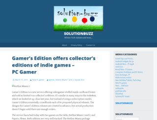 solutionbuzz.wordpress.com screenshot