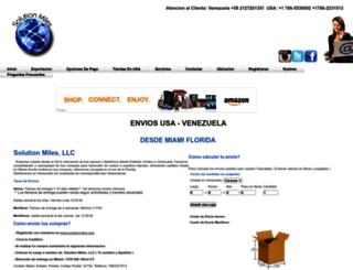 solutionmiles.com screenshot