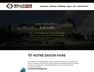 solutions-conseils.com screenshot