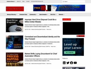 solutions-review.com screenshot