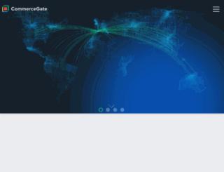 solutions.commercegate.com screenshot