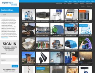 solutions.engineeringforchange.org screenshot