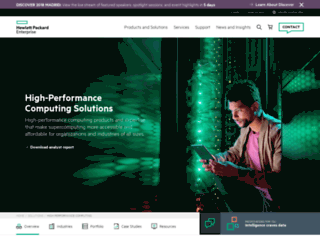 solutions.sgi.com screenshot