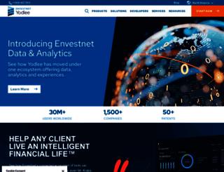 solutions.yodlee.com screenshot