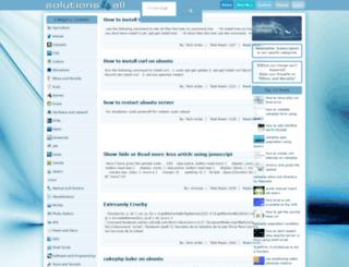 solutions4all.info screenshot