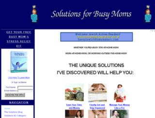 solutionsforbusymoms.squarespace.com screenshot