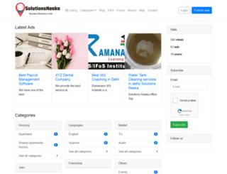 solutionsnaaka.com screenshot