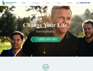 solutionsrehab.com screenshot