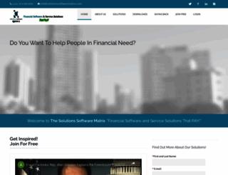 solutionssoftwarematrix.com screenshot