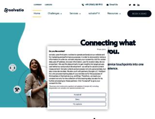 solvatio.com screenshot