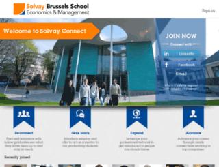 solvayconnect.com screenshot